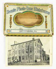Gettysburg Souvenir Scenic Photo-Tone Miniatures
