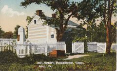 Gettysburg Souvenir Postcard General Meade's Headquarters