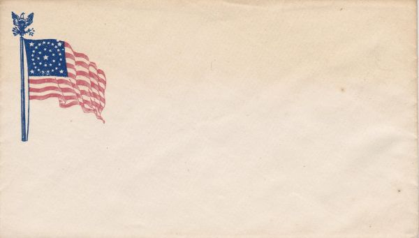 Civil War Patriotic Envelope