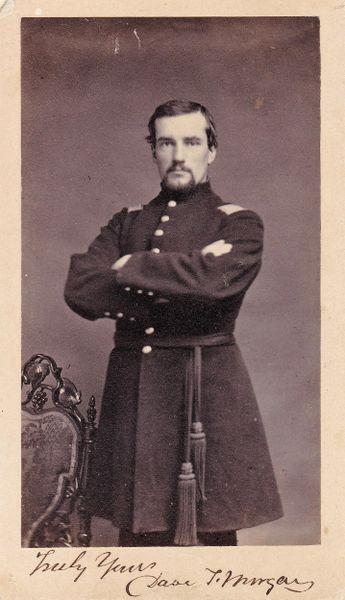 Band Leader David T. Morgan, 1st Regiment PRVC