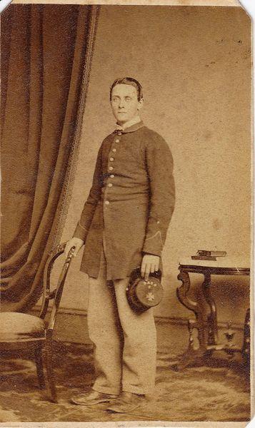 Private George W. Chase, Company E, 5th Regiment PRVC