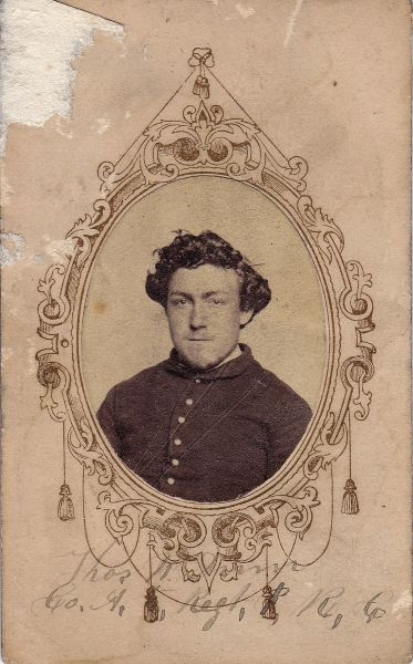 Private Thomas W. Dunn, Company A, Fifth Regiment PRVC