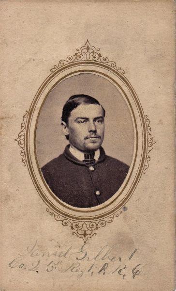 Private Daniel Gilbert, Company A, Fifth Reigiment PRVC