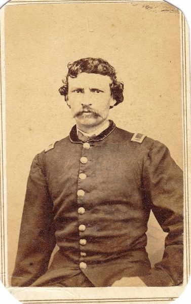 Captain William Harding, Company B, 6th Regiment, PRVC / On-hold