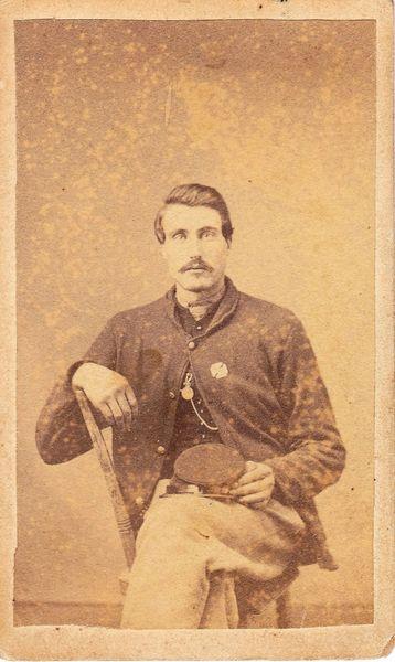 Private Franklin Edwin Stanton, Company C, 6th Regiment, PRVC