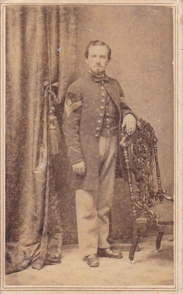 Second Lieutenant William H. Dieffenbach, Company B, 7th Regiment, PRVC