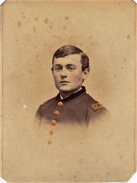 Captain Levi Epler, Company B, 6th Regiment, PRVC Wounded At Wilderness