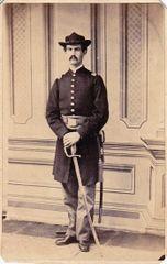 Captain William H. Weaver, Company D, 12th PRVC