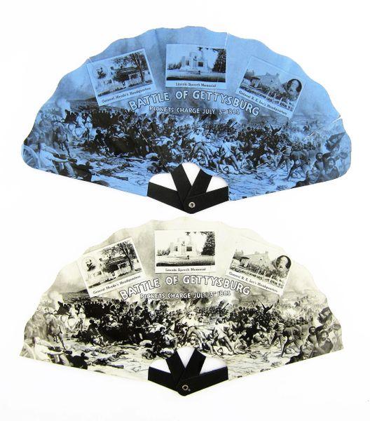 Gettysburg 50th Anniversary Fans