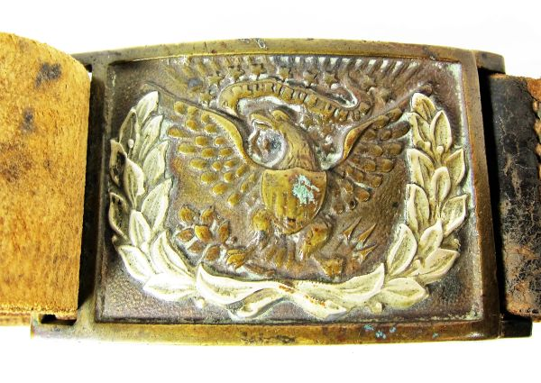 Civil War NCO Belt Rig With Carbine Box / Sold