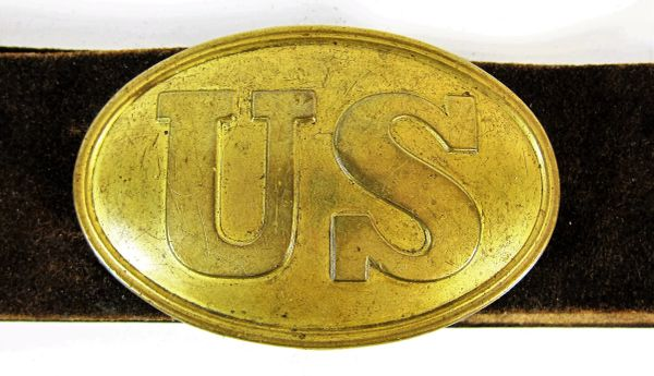 U.S. Belt Plate and Buckle / SOLD