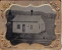 1/9th Plate Tintype of Home