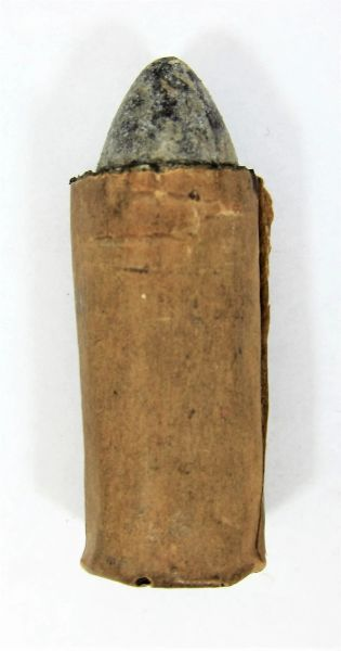 Civil War .50 Caliber Smith Paper Cartridge