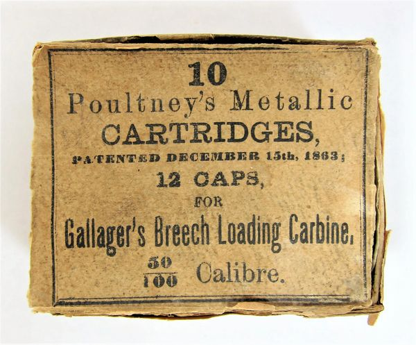 Gallagher Carbine Ammunition