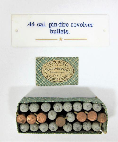 Pin-Fire Revolver Bullets