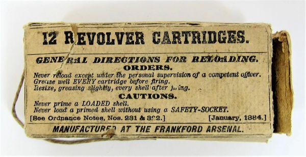 Colt/Schofield Revolver Ammunition