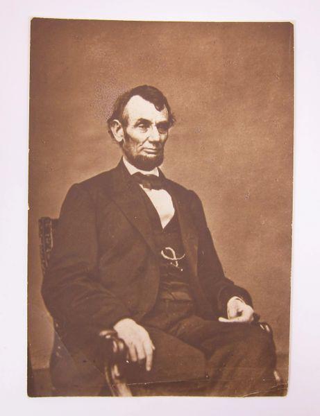 President Abraham Lincoln / SOLD