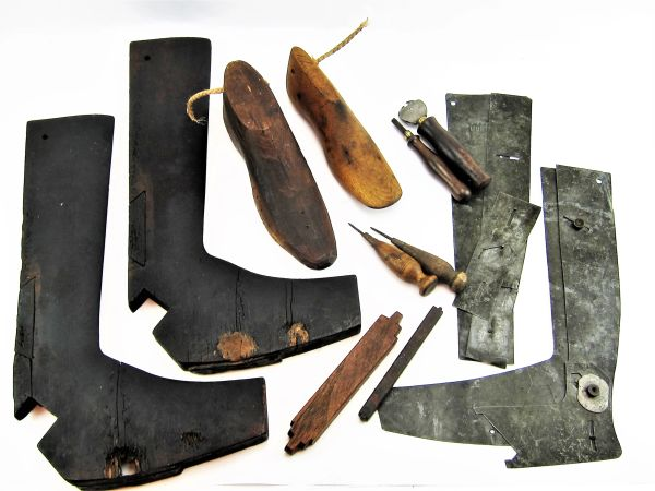 Civil War Boot Maker's Leather Working Implements