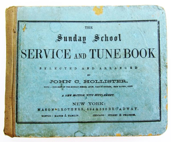 The Sunday School Service and Tunebook / Sold