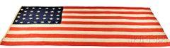 Thirty-Four-Star American Flag