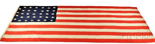 Thirty-Four-Star American Flag