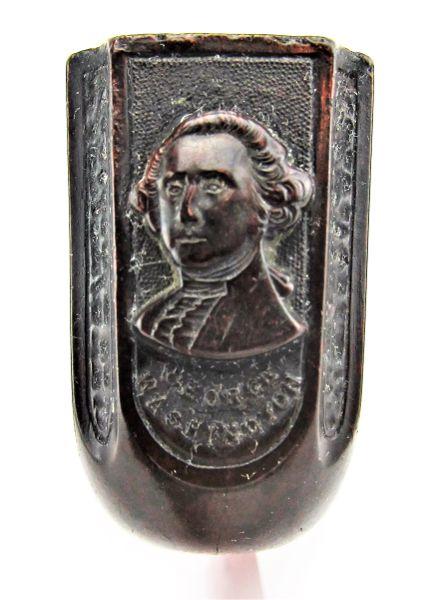 General George Washington Gutta-Percha Pipe