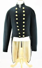 U.S. Civil War Model 1852 Navy Officer's Swallowtail Waistcoat