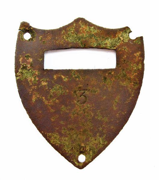 Cavalry Saddle Shield