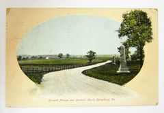 Howard Avenue and Barlow's Knoll, Gettysburg Postcard