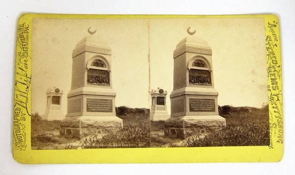 73rd PA Infantry Monument - East Cemetery Hill / Sold