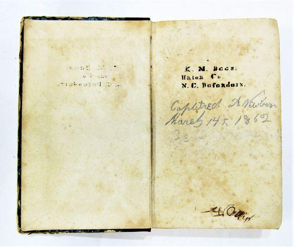 Identified Confederate Volunteer Manual / SOLD