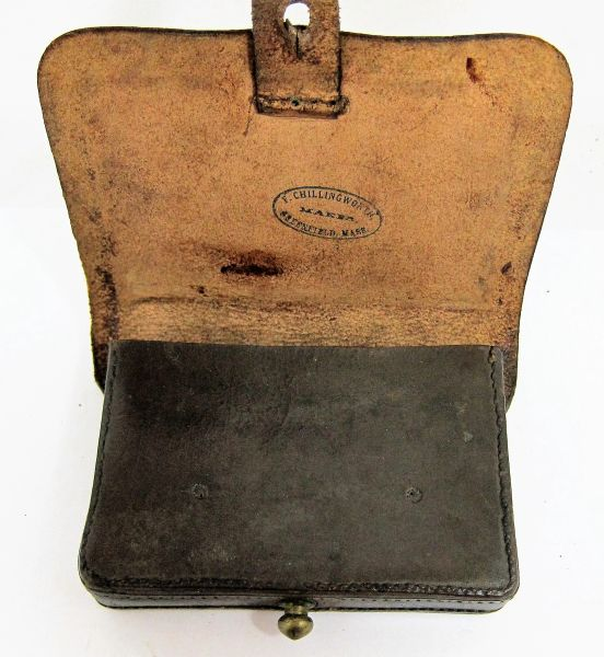 Civil War Pistol Cartridge Box / SOLD