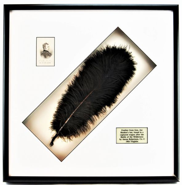 Plume from the Hat of General Joseph Hooker