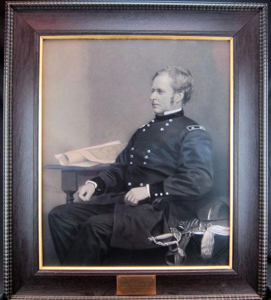 General Joseph Hooker Portrait /Sold