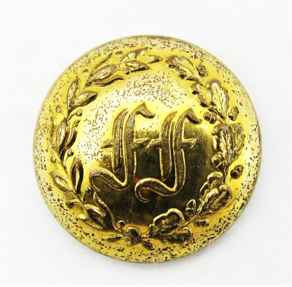 Fitchburg Fusileers Button Company B, 15th Massachusetts Infantry