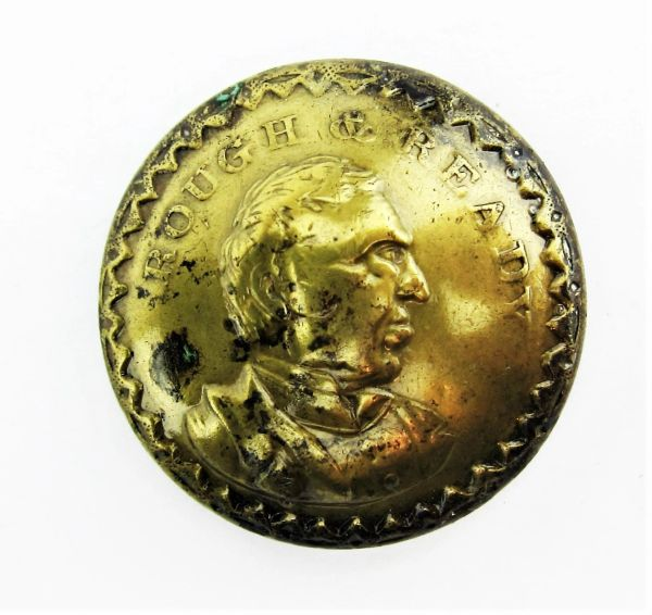Zachary Taylor Rough and Ready Uniform Button