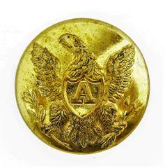 Federal Artillery Coat Button