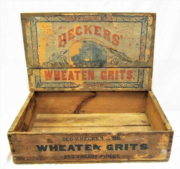 Scarce Original Wooden Box