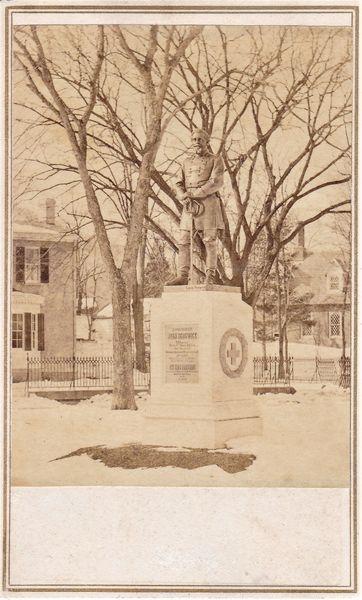 CDV of General Sedwick's Memorial