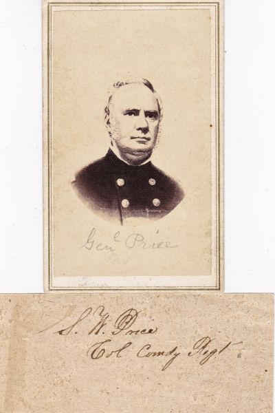 Confederate General Sterling Price
