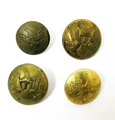 US Infantry Officer's Coat Button