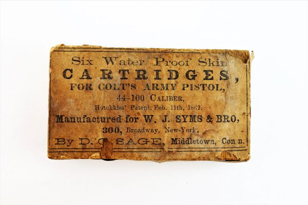 Colt Army Cartridges / Sold