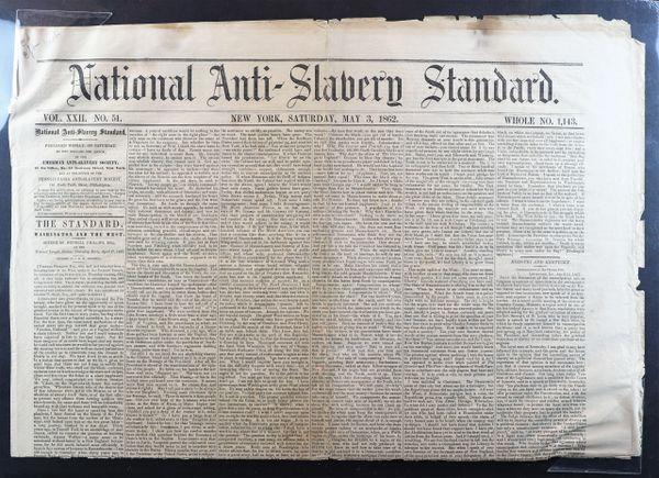 National Anti-Slavery Standard / On-hold