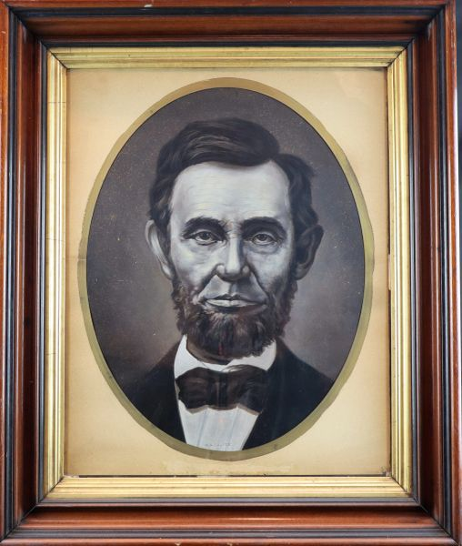 Abraham Lincoln Oil Painting
