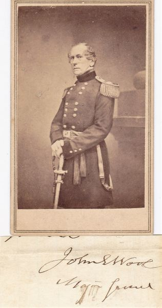 Major General John Ellis Wool