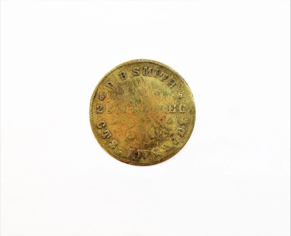 28th Illinois Civil War Sutler Token
