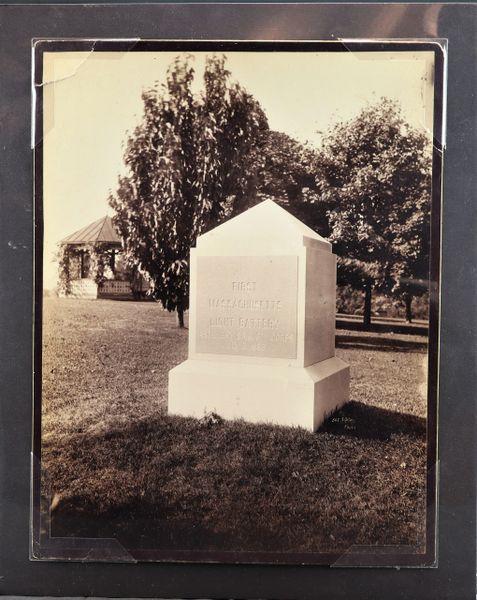 1st Mass Light Battery Monument Gettysburg