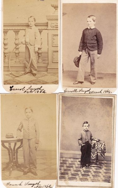 Civil War Cadet Soldier Boys CDV Grouping