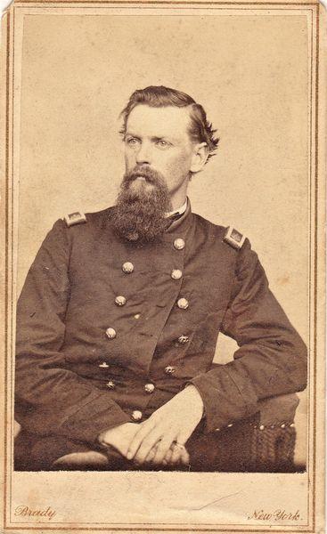 Major Thomas Davies Maurice, MO 1st LA Battery and 1st Light Artillery by Brady