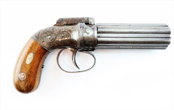 Allen and Thurber Deluxe Pepperbox Revolver Allen's Patent 1837